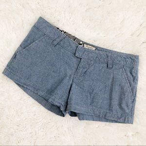 Volcom Frochickie Chambray Shorts 2.5 Inch